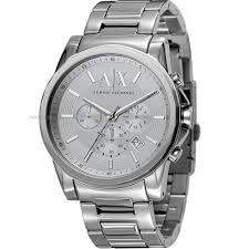 "men s armani exchange chronograph watch ax2058 watch shop comâ""¢ mens armani exchange chronograph watch ax2058"