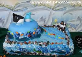 Word Party Birthday Ideas Ffdn Seaworld Birthday Party And Cake