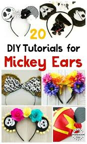 diy mickey ears for your next