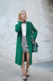 how to wear winter coats in spring green long topcoat gingham check spring