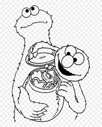 Coloring Pages Elmo Cookie Monster Nauhoituscom All About 10k