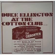 Image result for Duke Ellington, the Cotton Club