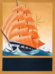 1850s sailing clipper ilrated by bill wood