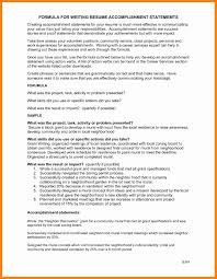 sample list of accomplishmentsawesome collection of sample resume with  accomplishments section with example jpg