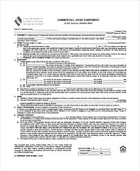 Standard Commercial Lease Agreement 12 Commercial Lease Agreements Word Pdf Pages Free Premium