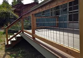Hog Panel Deck Railing Ideas Capricornradio HomesCapricornradio Homes