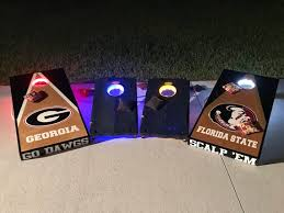 Bluetooth Controlled Cornhole Lights with 16 million Colors | Etsy