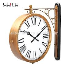 2 sided clock double sided wall clocks 2 double sided wall clocks 2 supplieranufacturers 2 sided clock antique bronze double