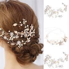 3pcs <b>Fashion Flower</b> Hair Pins Woman Bridal Pearls Diamante ...