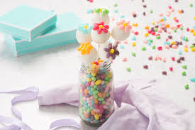 Jelly Belly Flower Cake Pops Recipe