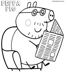 peppa pig coloring book in addition to pig printable coloring pages pig coloring book together with