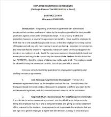 Court Document Templates Separation Agreement Template 13 Free Word Pdf Document