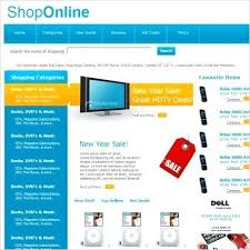 Buy Templates Online Shop Template Free