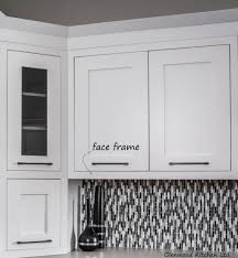 frame advantages wood face frame makes a very sy cabinet can be easier to install than frameless cabinets crown mouldings can be face mounted