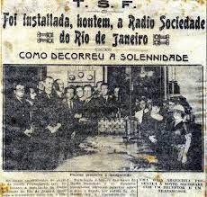 Aspectos históricos da linguagem do rádio e da TV brasileira na