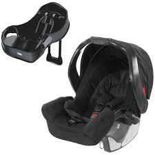 graco junior baby group 0 car seat auto base midnight black