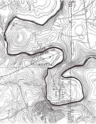 HSRtopo chester county council, boy scouts of america on pa printable map