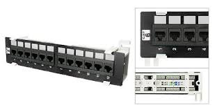 black 12 port cat 6 mini wall mount patch panel how to install a patch panel and switch at Cat6 Patch Panel Wiring Diagram