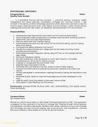 Data Analyst Resume Sample Inspirational 28 Data Analyst Resume