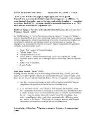 en first short essay topics frederick douglass essays