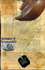altered book lover great idea to collage your pages