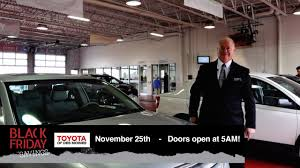 black friday specials at toyota of des moines