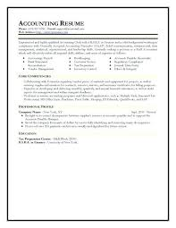 Resume Examples Accounting Fascinating Accounts Manager Resume Sample In India Medicinabg
