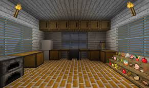 Minecraft Modern Kitchen Minecraft Kitchen Only Will Use Item Frames For The Food So They