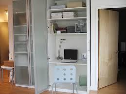 office in a wardrobe. 20070829jenhiddenoffice office in a wardrobe e