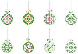Decorative Christmas Ball Ornaments Decorative Christmas Ball Ornament Brush Pack Free Photoshop 2