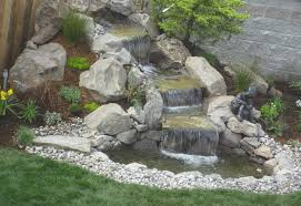 Small Picture Nice Waterfall Landscaping Ideas Best Waterfall Ideas For Backyard