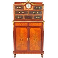 Small French Inlaid Kingwood Cabinet at 1stdibs