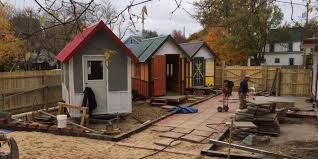 Small Picture Tiny Houses For Homeless People Put Roofs Over Heads In Time For
