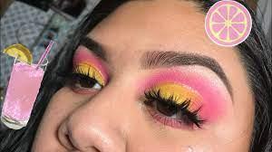 pink lemonade eyeshadow simply sely