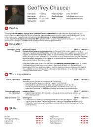 Resume Examples By Real People Student Resume Public Relations