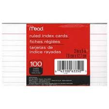 Index Card 3x5 Index Card 3x5 Ruled White Index Card 3x5 Ruled White