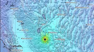 Earthquake near Smith Valley, Nev ...