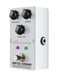 <b>Педаль</b> для бас-гитары <b>AMPEG OPTO</b> COMP Bass Compressor ...