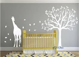 giraffe nursery wall decor giraffe wall decals for nursery giraffe nursery wall