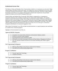 Four Year College Plan Template Construction Business Proposal Template Rbarb Co