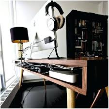 fine desk cable management photos mid century with cord best and style ideas office tray