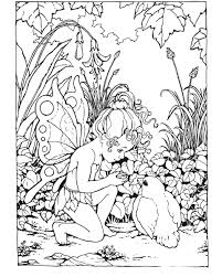 Amazing Free Printable Fairy Coloring Pages For Adults 78 For ...