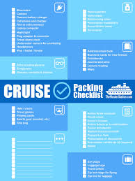 Cruise Packing List Cruise Packing List Free Pdf Download