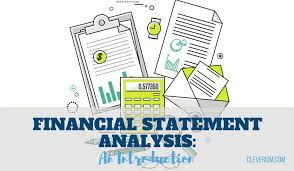 Personal Financial Statement Form Enchanting Financial Statement Analysis An Introduction