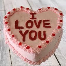 vanilla love you cake