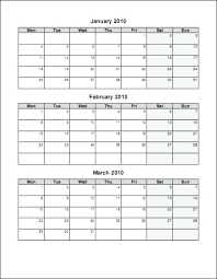 Printable Blank Monthly Calendar Month Calendar Printable Print Blank Monthly Plain Template Free