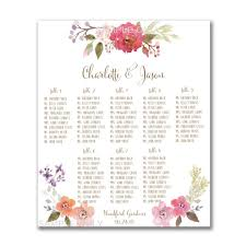 wedding guest seating chart template literarywondrous wedding guest seating chart ideas receptione word