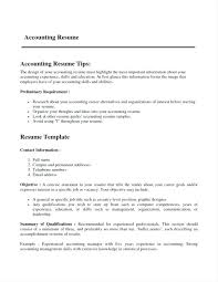 Resume Format Accountant Best Of Accounting Resume Samples Resume