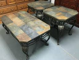 Slate top coffee table End Tables Slate Top Table Photo Of Slate Top Coffee Table With Coffee Table Cool Of Stone With Slate Top Table Maiphongpheoclub Slate Top Table Dining Tables Slate Top Dining Table Set