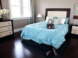 Dark Wood Floor In Bedroom Black Hardwood Flooring In The Bedroom